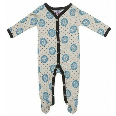 Port Adelaide Power Baby Infant Romper Coverall Official AFL