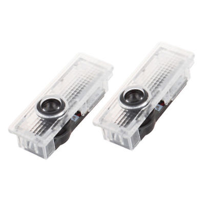 2-4pcs Logo de BMW/M Performance Luz LED de Puerta GTX5X6 3/5/6/7/GTX5/X6 series