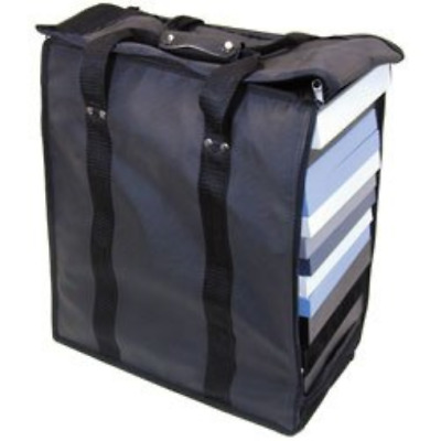 "Premium Carrying Case Measures 16"" x 9"" x 19"" tall Holds 17 1-inch trays Trays"