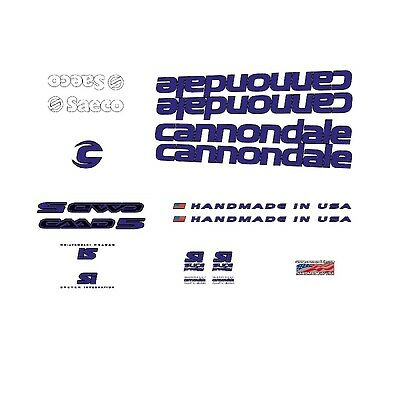 Autocollants Blanc n.2023 Cannondale R500 CAAD 4 Bicyclette Decals