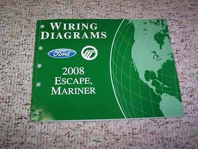 2008 Mercury Mariner Electrical Wiring Diagram Manual I4 Vprmier V6 4Cyl 2.3L