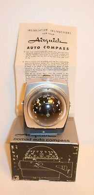 Vintage Airguide Auto Compass Self-Illuminated Model 79C New Old Stock