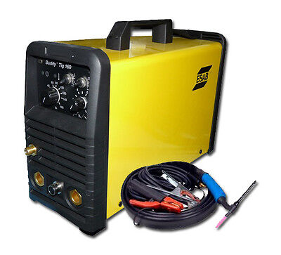 NEW! ESAB Buddy TM TIG 160 Wig Inverter Welding Power Supply Electrodes Machine