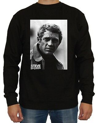 Steve McQueen Sweater Film Le Mans Blob Mustang Mr Cool Bullitt Kult Fun Racing