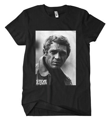 Steve McQueen T-Shirt Film Le Mans Blob Mustang Mr Cool Bullitt Kult Fun Racing