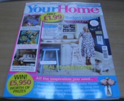 Your Home magazine Apr 2018 Budget Kitchen Makeovers + Springtime Crafts & more