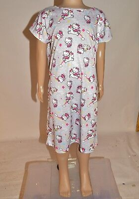 M&S Hello Kitty Unicorn Rainbows Nightdress PJs Nighty Nightie Age 2-4 Years A21