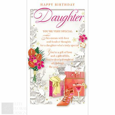 Happy Birthday Daughter Today Youre 6 Daughter 6th Birthday Card