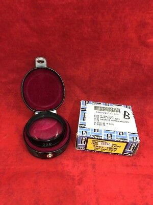 NEW NIKON 20 D Clear Coat Aspherical Opthalmoscopic Indirect Lens w/Case