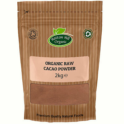 Organic Raw Cacao / Cocoa Powder 2kg Certified organic
