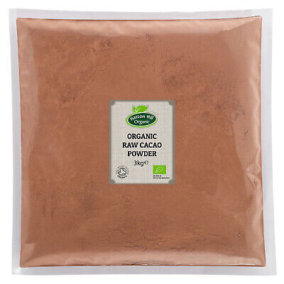 Organic Raw Cacao / Cocoa Powder 3kg Certified organic