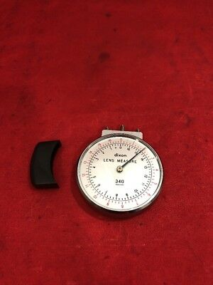 DIXON Lens Thickness Measuring Gauge Clock See Listing