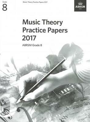 ABRSM Music Theory Practice Papers 2017 Grade 8 AB10919