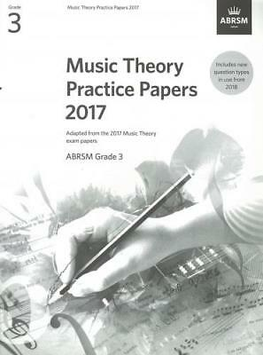 ABRSM Music Theory Practice Papers 2017 Grade 3 AB10803