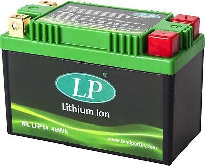 Lithium Battery Lp Landport Ml Lfp14 Yamaha Raider 1854 Cc 2006 > 2010 Yt14B-Bs