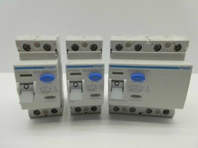 Hager Time Delay Rcd 2, 4 Pole Residual Current Circuit Breaker 100, 300Ma