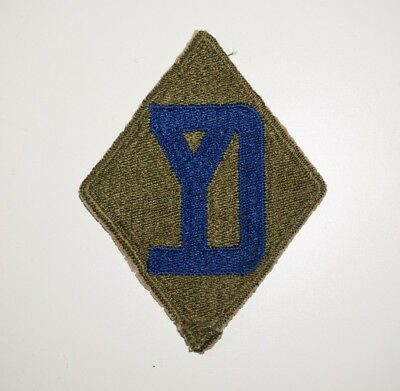 26th Infantry Division German Theater Made Patch WWII US Army P6126