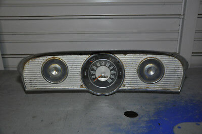 Ford F-100 to F-350 1961 to 66 Instrument Cluster w/ Bezel Complete