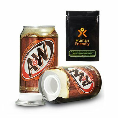 Root Beer Hidden Container Safe Can Diversion Secret Stash Hide Jewelry Cash NEW