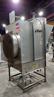 2002 Marley Aquatower Single Cell Cooling Tower, Model 492A, 22 Tons