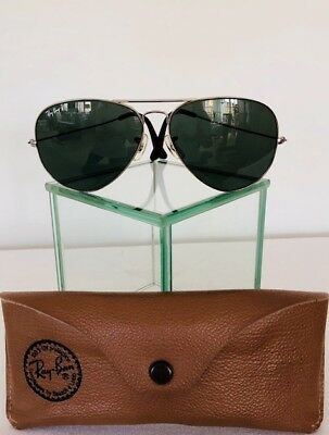 ray ban sonnenbrille aviator chrome lila