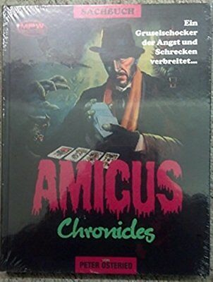 AMICUS CHRONICLES von Peter Osteried. NEU in Folie! VERGRIFFEN! HORROR Cover A/B