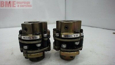 "Model 6-22 Couplings 5/8"" X 3/4"" Bore"