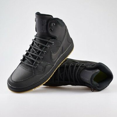 ff04935e4745 MENS NIKE SON Of Force Mid Winter - Black gum 807242 009 - Uk 7 To ...