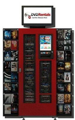 S250 DVDNow Movie/Game Rental Kiosk - Loaded and Ready to Go