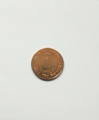 Arizona State Tax Token 1 mil (1/10 cent) uncirculated