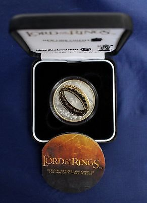 New Zealand - 2003 - Silver Proof Coin- Lord of The Rings Coin!!