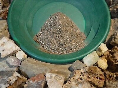 Gold Concentrate, Gold  Paydirt,  2 Pounds+ Of New England Rich Gold Panning Fun