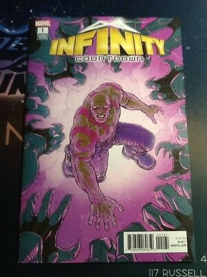 Infinity Countdown #1 (Of 5) 1:25 Variant Cover Nick Derrington 3/7/18 (Br098)