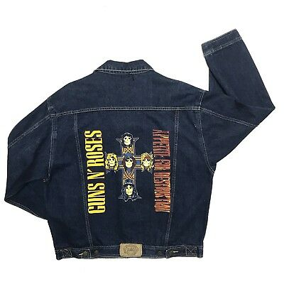 RARE Original Vintage GUNS N' ROSES Appetite For Destruction Denim Jacket