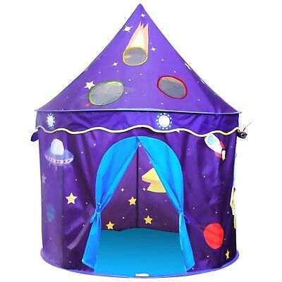 Homfu Kids Play Tent Castle Playhouse For Children Perfect Gift for Boys Girls