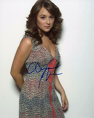 Alexa Vega AUTOGRAPH Signed 8x10 Photo B