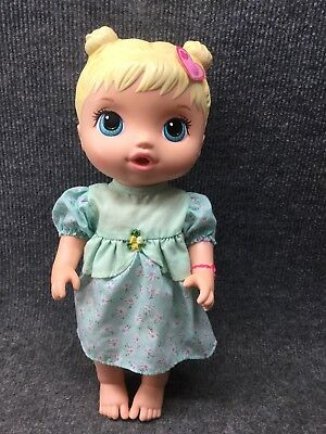 "2015 Baby Alive Drink And Wet Doll Blonde 13"" Hasbro"