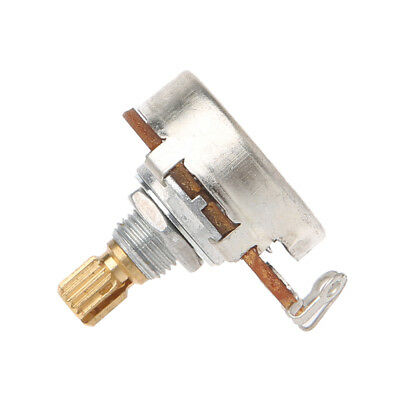 Volume Potentiometer B250K OHM Control Pot Guitar Audio Taper Split Shaft Brass