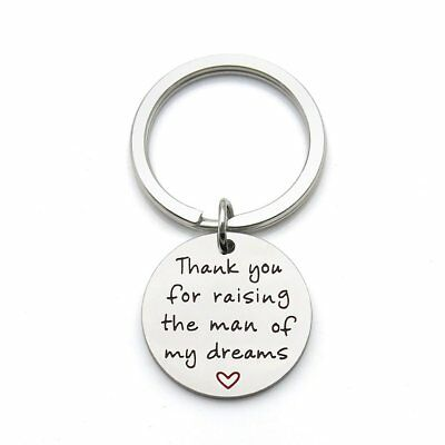 Thank You for Raising the Man of My Dreams Mother Gift Mother in Law Future Key