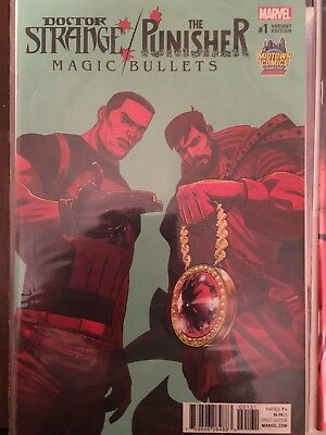 DOCTOR STRANGE The PUNISHER MAGIC BULLETS 1 RUN THE JEWELS MIDTOWN VARIANT NM
