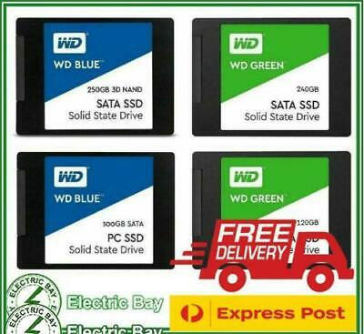 "SSD WD Green Blue 120GB 250GB 500GB 1TB 2TB 2.5"" SATA Internal Solid State Drive"