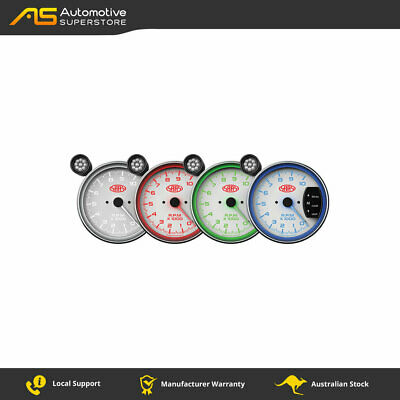 SAAS 5 inch Tachometer White face