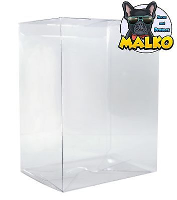 Malko Funko Pop Protector Case for 4-Inches Vinyl Figures (10 Pack)