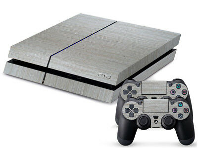 Silver stripes Cover DECAL PROTECTIVE STICKER for SONY PS4 CONSOLE CONTROLLER