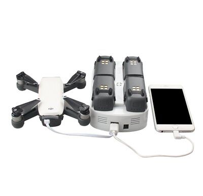 RCstyle 6 In 1 Intelligent Rapid Battery Charger Hub Dock For DJI Spark