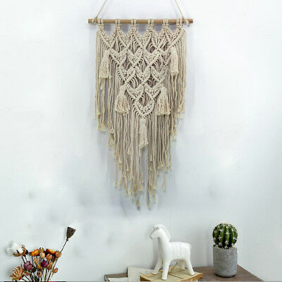 Boho New Macrame Wall Hanging Woven Art Handmade Wall Tapestries Home Decoration