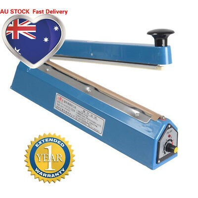 New FS300 Impulse Heat Sealer Electric Plastic Poly Bag Hand Sealing Machine