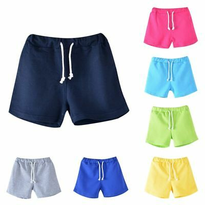 Lovely Baby Toddler Boy Girls Summer Beach Shorts Kids Shorts Pants Trousers US