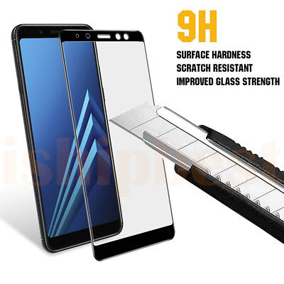 Premium 3D Curved Tempered Glass Screen Protector For Samsung Galaxy A5 A7 A8 II