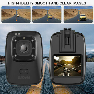 SJCAM Camera Security Bodycam 140° A10 Worn Law Enforcement Recorder 1080P HD NB